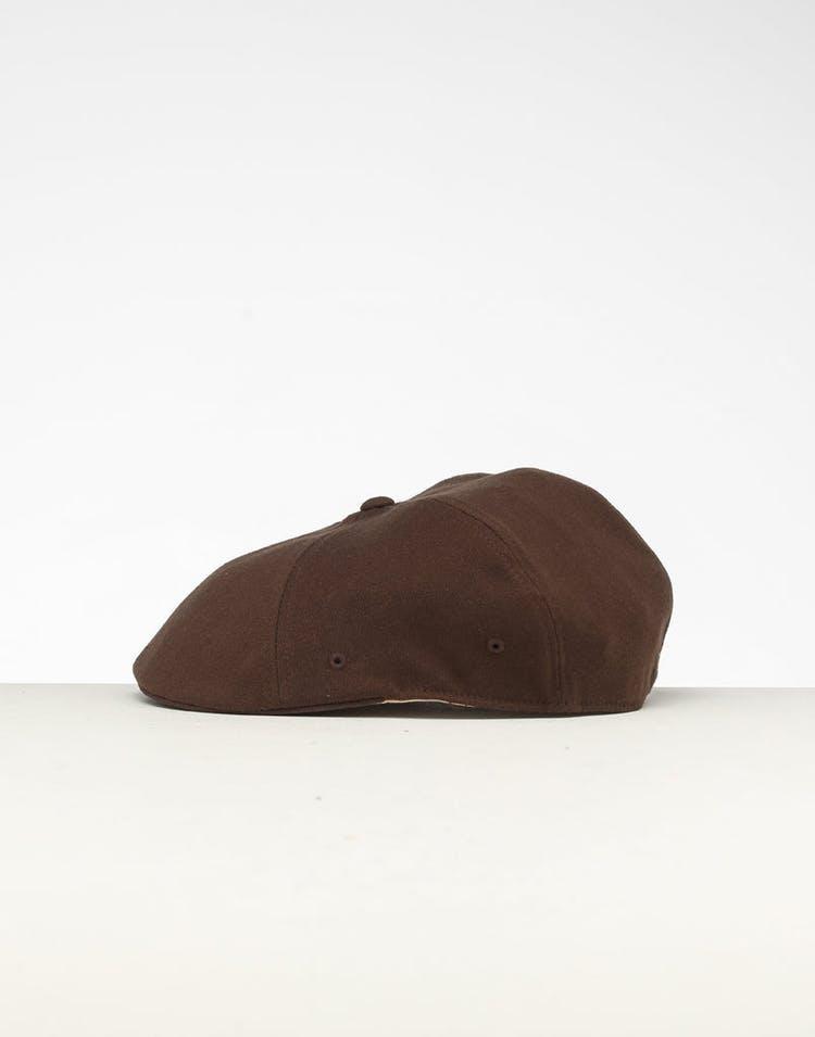 357a42579 Kangol Wool Flexfit 504 Brown
