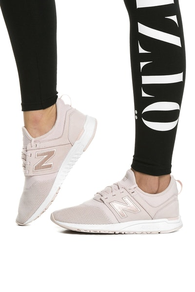 NEW BALANCE WOMEN'S 247 PINK/WHITE