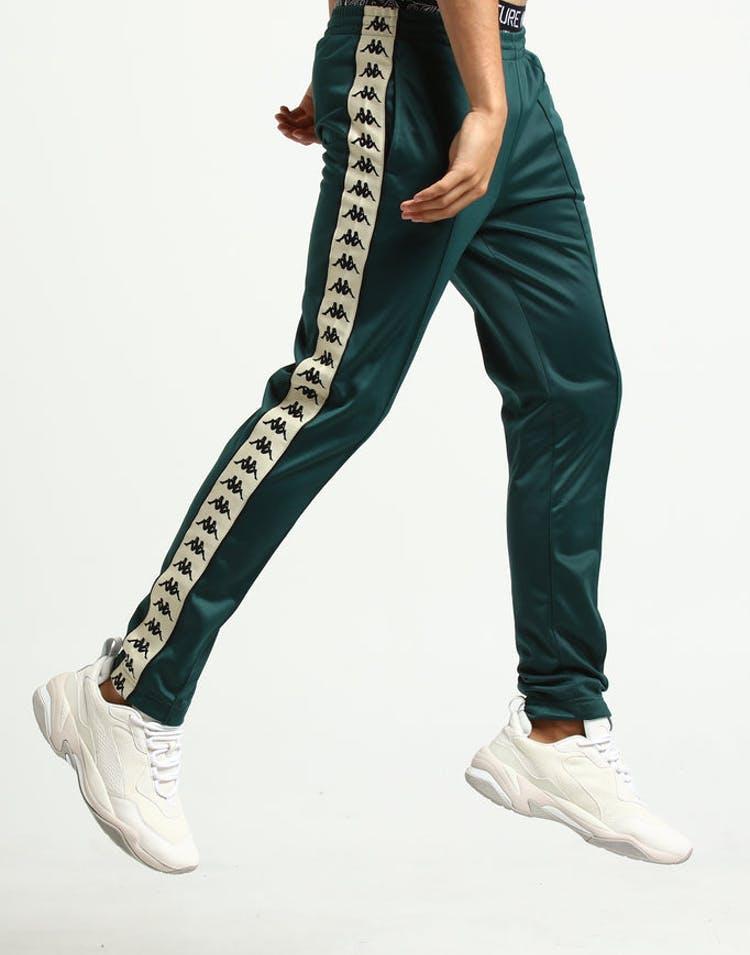 491b34057e Kappa 222 Banda Astoria Slim Pant Green/Cream – Culture Kings