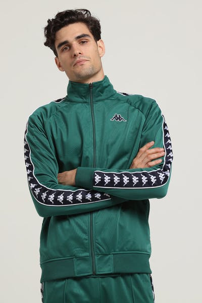 KAPPA 222 BANDA ANNISTON JACKET GREEN/BLUE