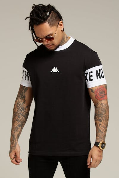 Kappa Authentic Baltos SS Tee Black/White