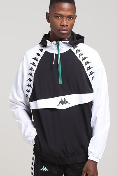 Kappa Authentic Bakit Anorak Black/White