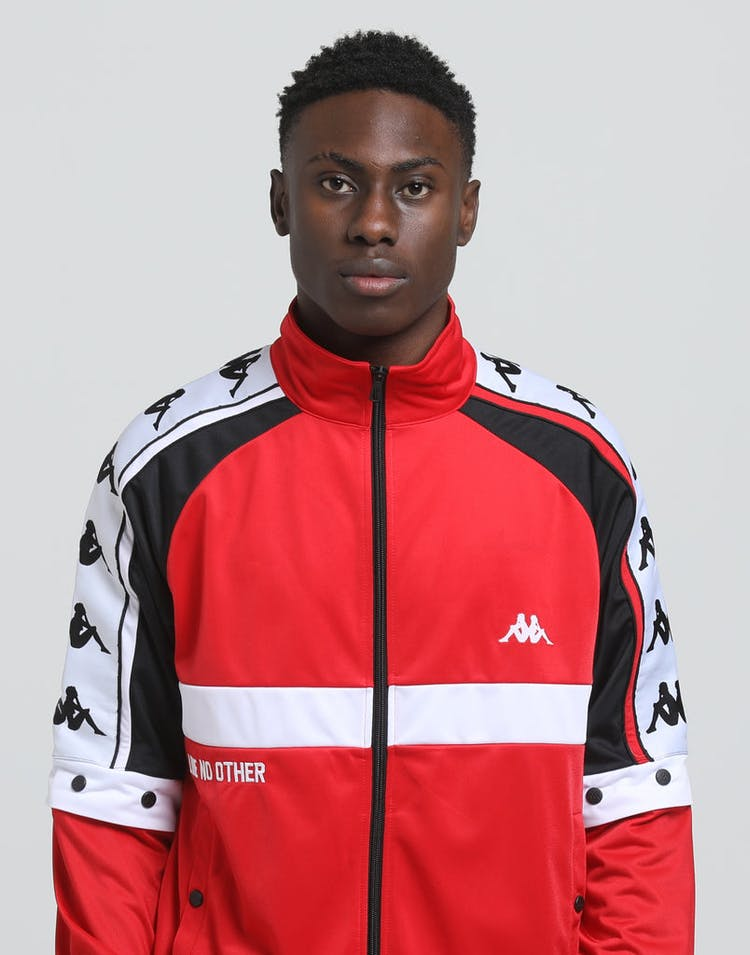 KAPPA Authentic Bafer Jacket Red/Black/White