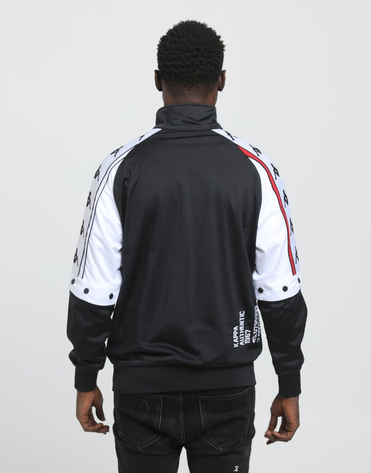KAPPA Authentic Bafer Jacket Black/Red/White