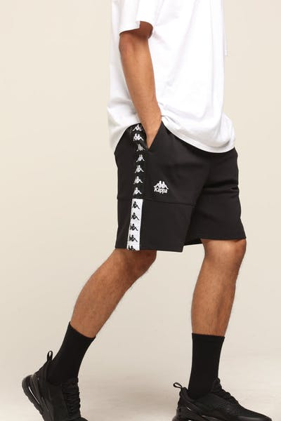 Kappa Authentic Biplus Shorts Black/White