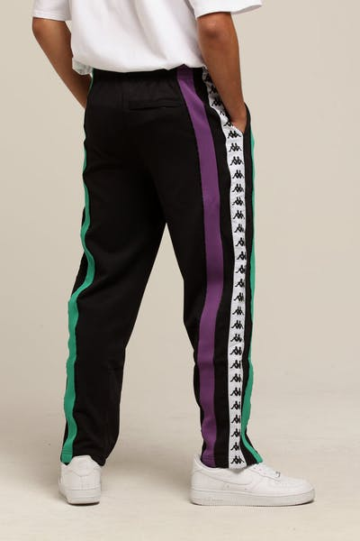 KAPPA Authentic Balic Pants Black/Purple/Green