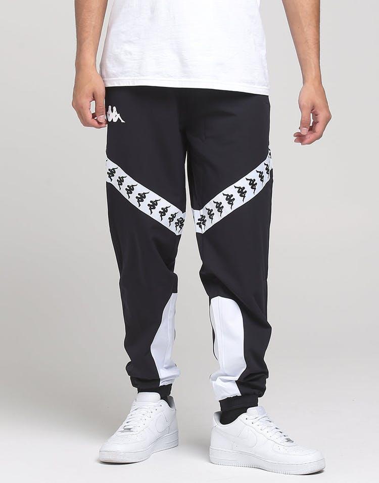 747057538a Kappa 222 Banda Balmar Pants Black/White