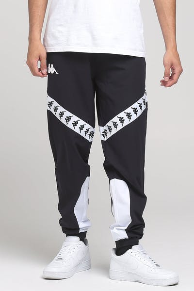 Kappa 222 Banda Balmar Pants Black/White