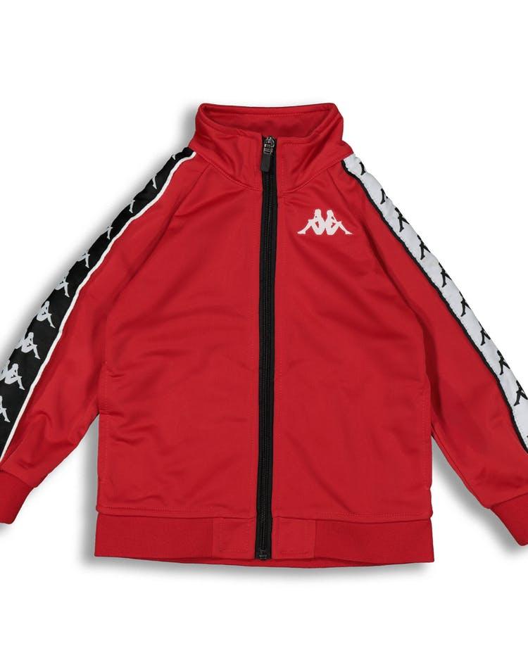 f7c28b78be Kappa Kids 222 Banda Anniston Slim Jacket Red/Black/White