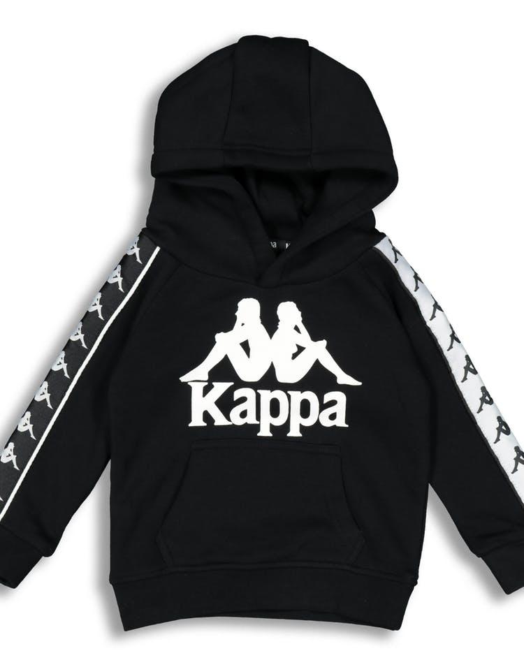 773aeb039d Kappa Kids 222 Banda Hurtado Hood Black/White