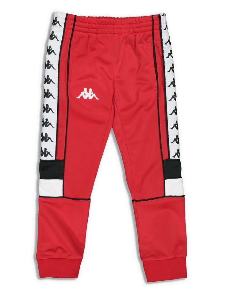 3fc251d4f2 Kappa Kids 222 Banda Mems Slim Pants Red/Black/White