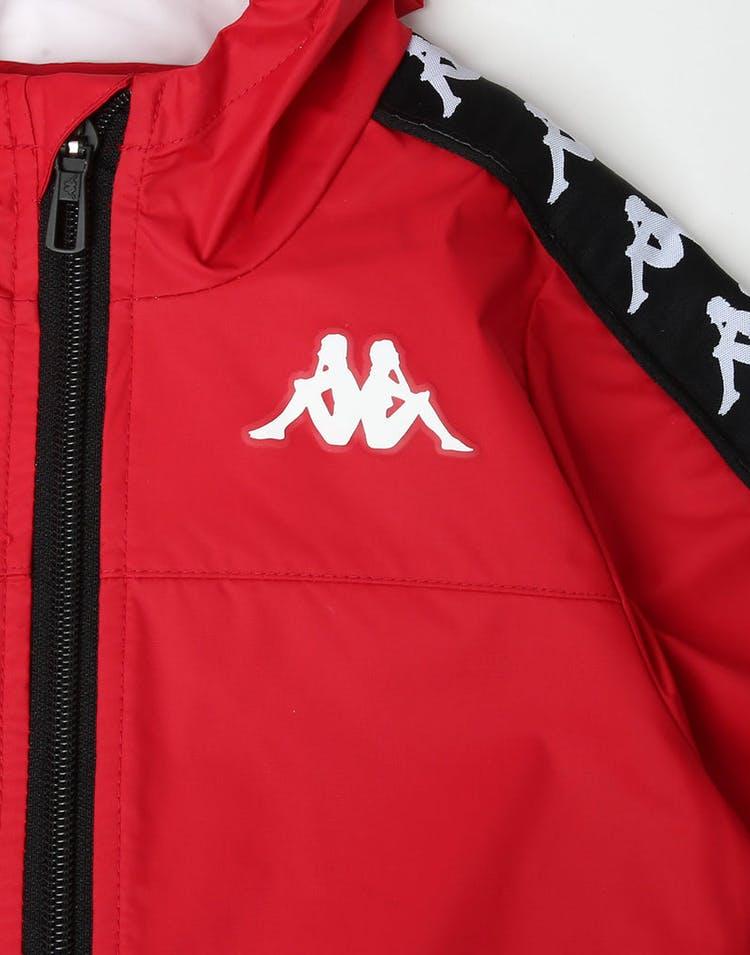 daadd5032c Kappa Kids 222 Banda Dawson Jacket Red/Black/White