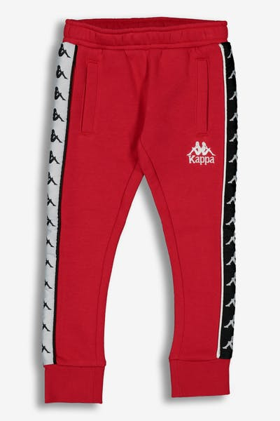 Kappa Kids 222 Banda Alan Jogger Red/Black/White