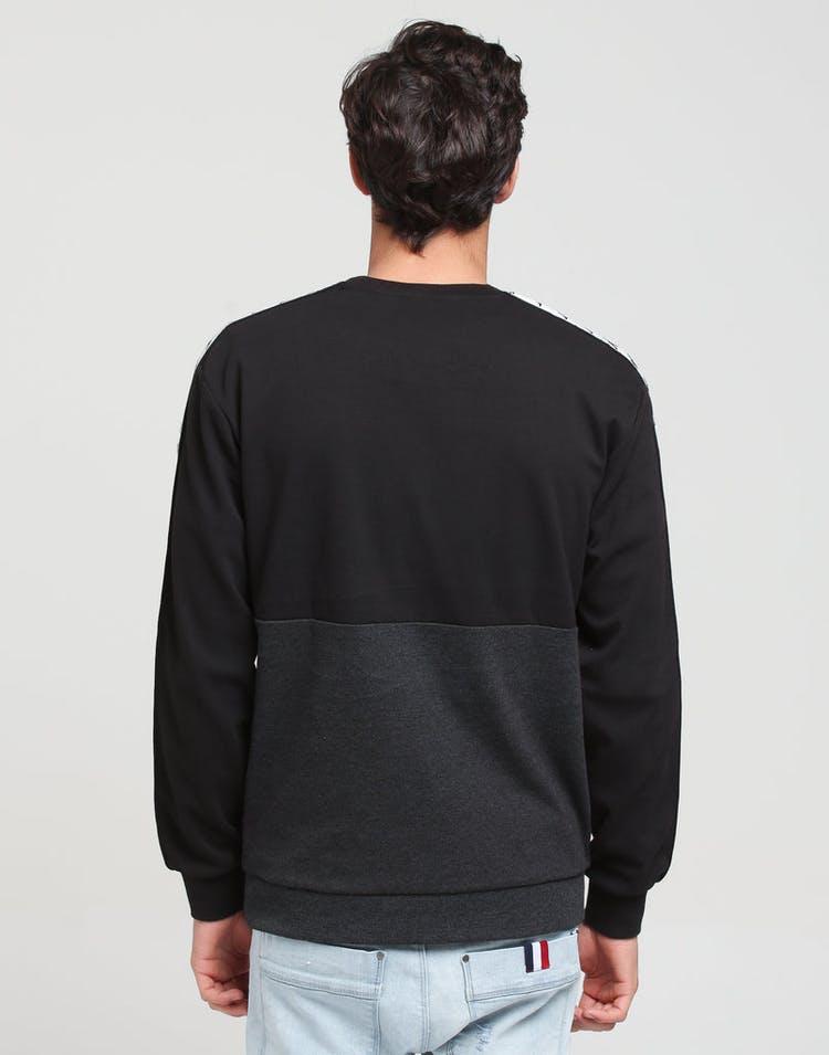 86d7687d0a Kappa 222 Banda Authentic Sweatshirt Crew Black