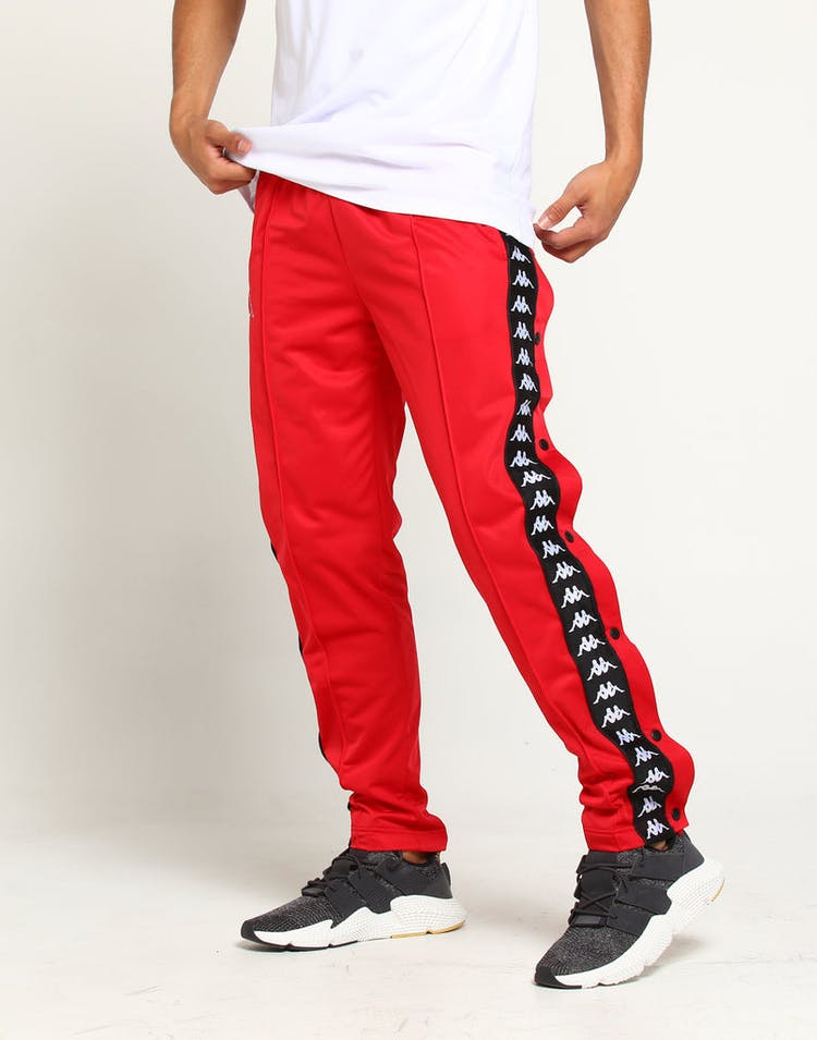 afbbd1928918a7 Kappa 222 Banda Astoria Slim Pant Red Striped Track Pant Stripe ...