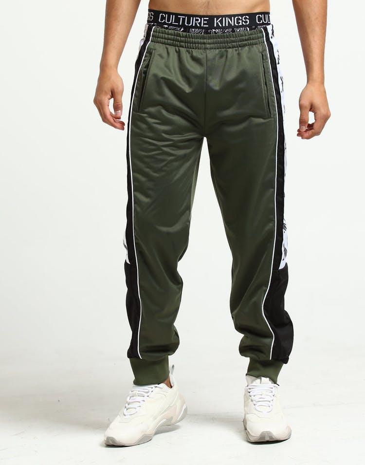 25141aa06a Kappa 222 Banda 10 Alen Track Pant Green/Black/White
