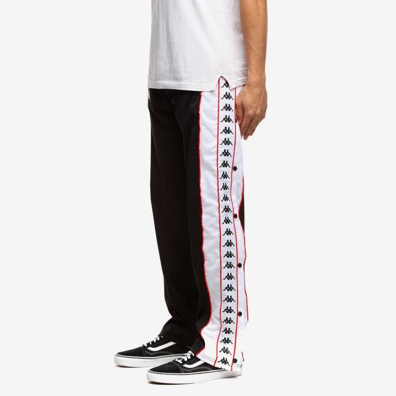ae56c97b8eda Kappa 222 Banda Big Bay Pant Black White Red – Culture Kings