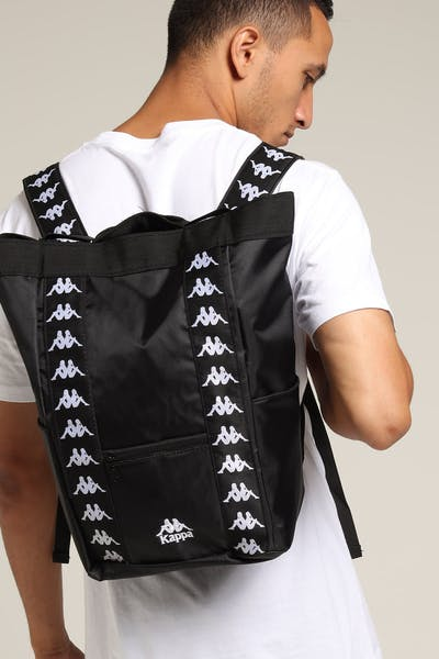 Kappa 222 Banda Aninges Backpack Black/White