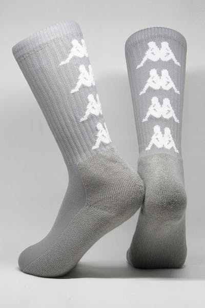 Kappa Authentic Amal 1PK Socks Grey/White