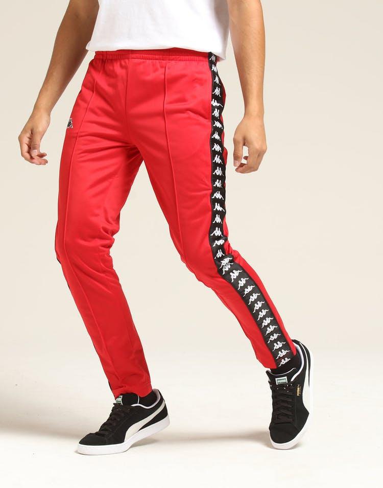612a82a7 Kappa 222 Banda Astoria Slim Pant Red/Black/White