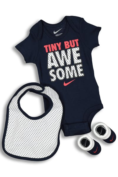 Nike Tiny But Awesome 3PC Boxed Set Obsidian