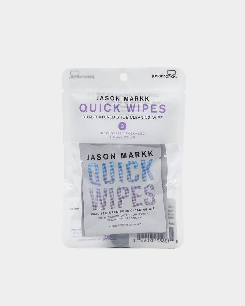Quick Wipes 3 Pack White