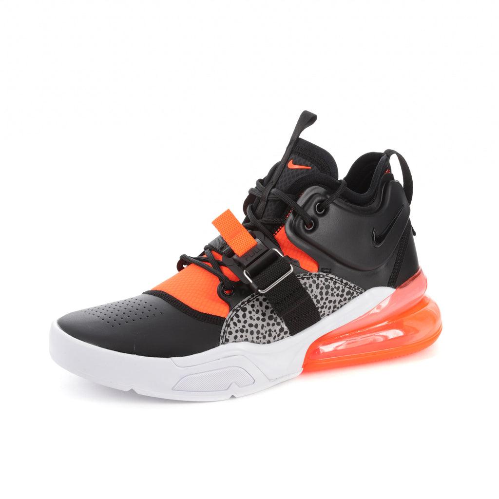 Nike Air Force X 1 07 Supérieures Ancres Rouges Hi