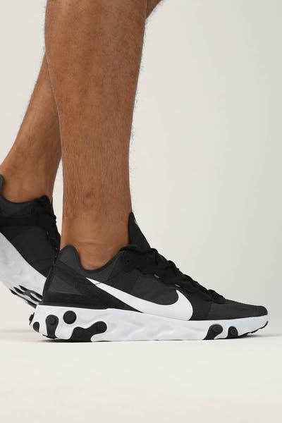 low priced f7dc4 f76f9 Nike React Element 55 Black White