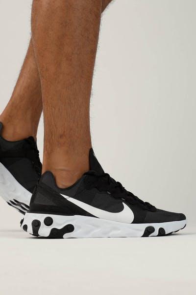483208567aabae Nike React Element 55 Black White