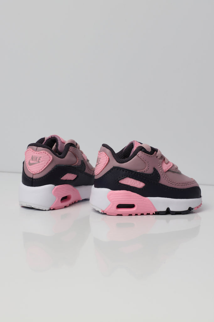 best service 89901 acef3 ... shopping nike air max 90 leather toddler shoe pink grey white 50e88  37748