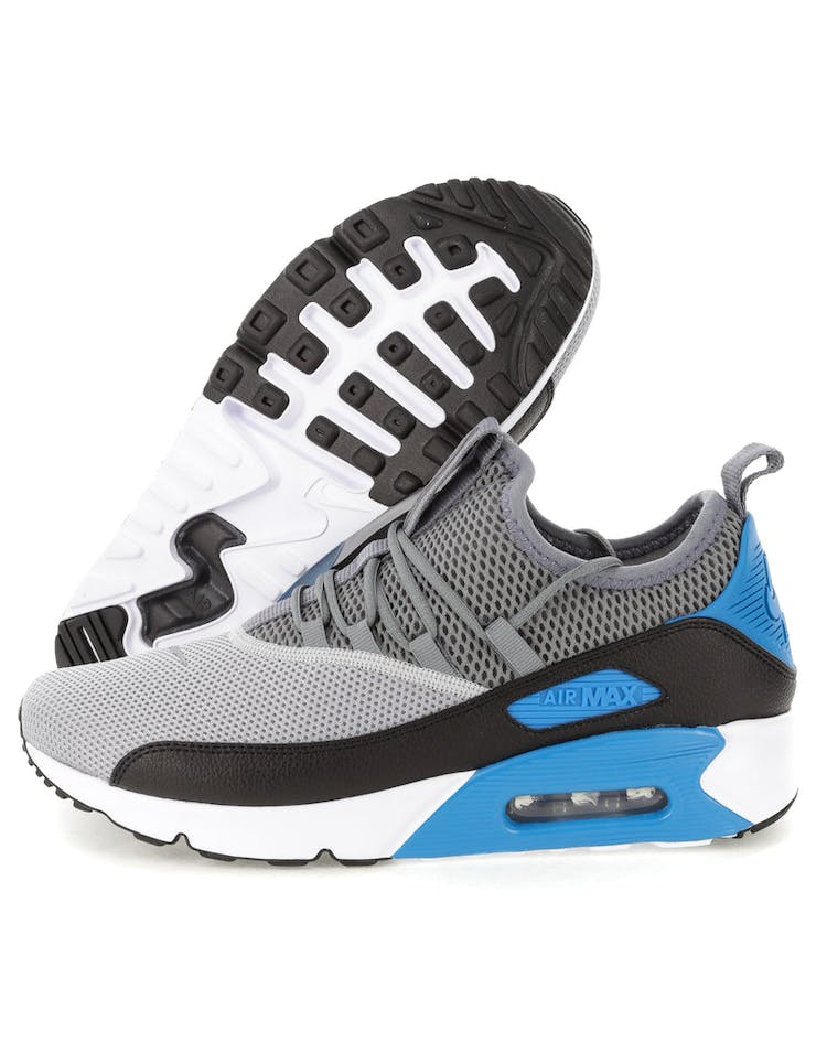 sale retailer 4bd17 2b7ba Nike Air Max 90 EZ Grey/Black/Blue