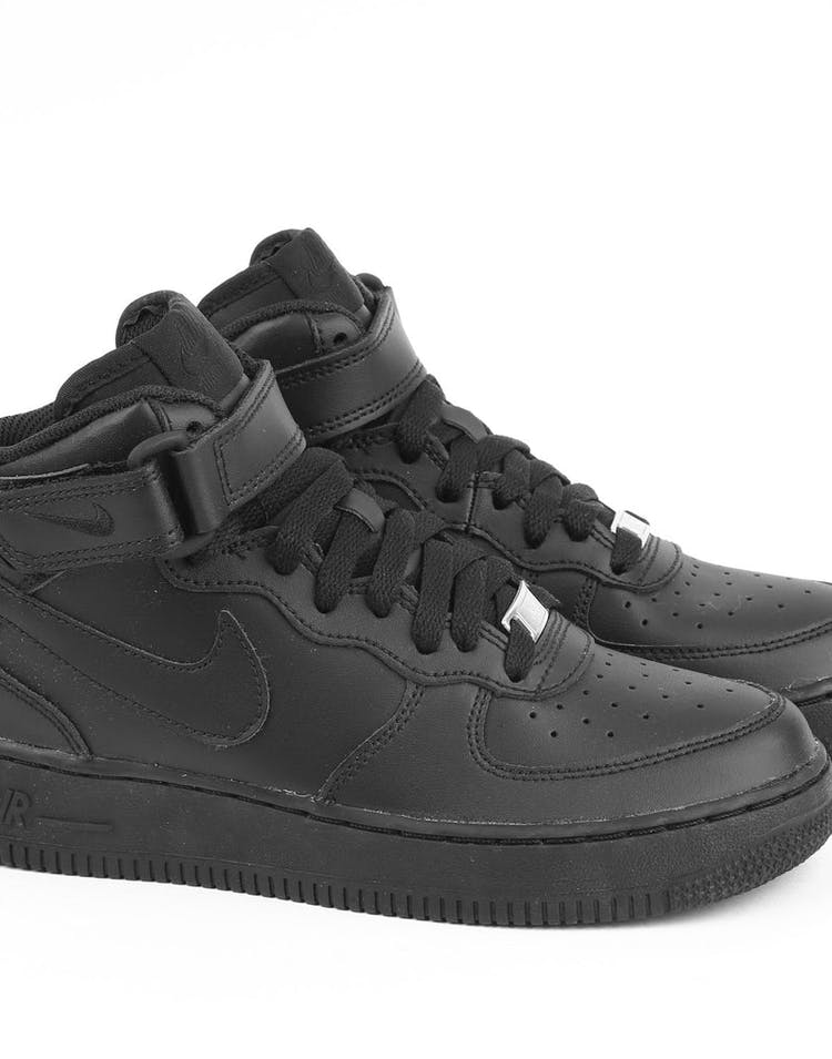 2193d1c9bdb3 Nike Boys Air Force 1 Mid (GS) Bball Black/Black – Culture Kings