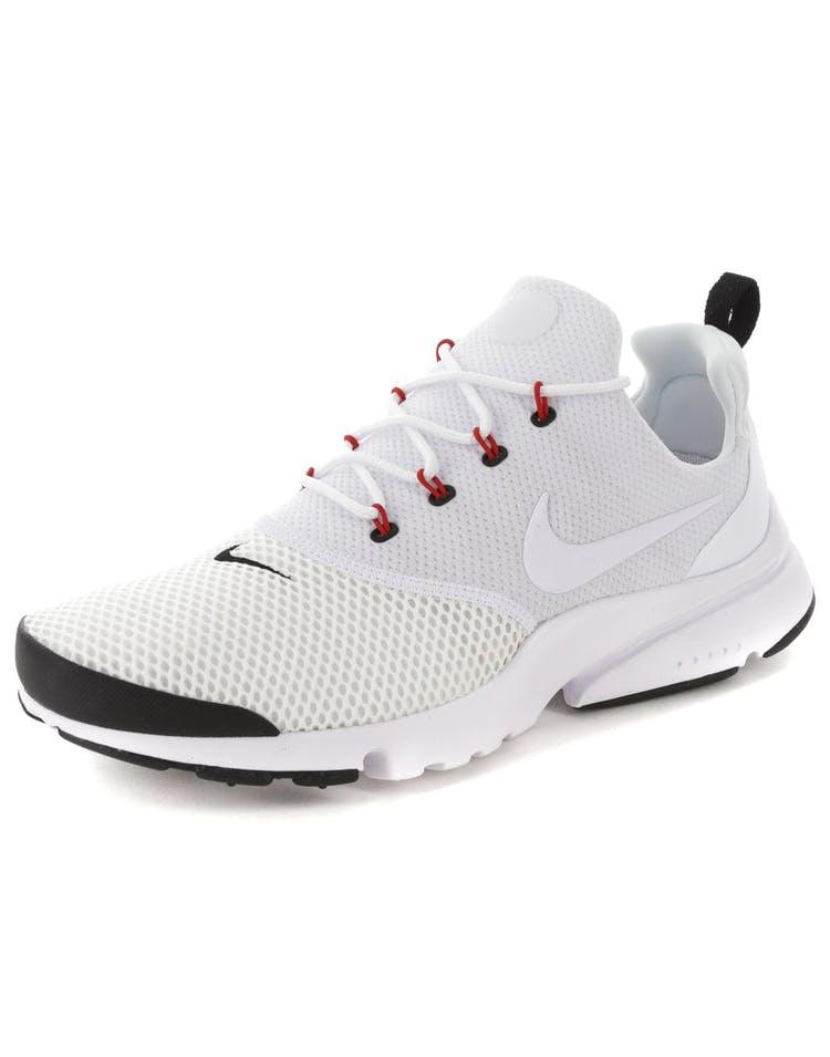cdfb62ba56a9a Nike Presto Fly White Red Black