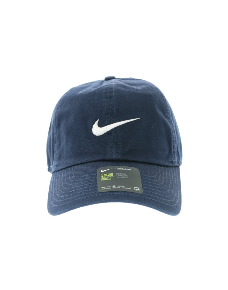 info for ad2a1 66e19 Nike Heritage 86 Swoosh Strapback Navy White – Culture Kings