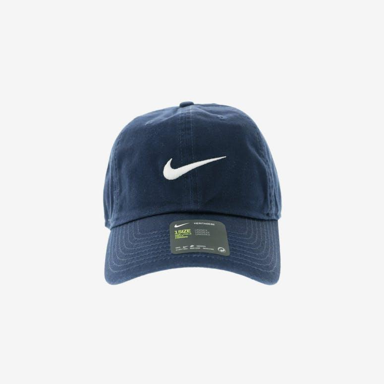 3e0c448af19 Nike Heritage 86 Swoosh Strapback Navy White – Culture Kings