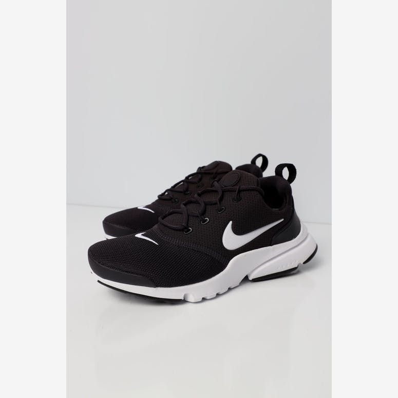 c266b5cd7388 Nike Presto Fly Older Kids  Shoe Dark Grey White Black