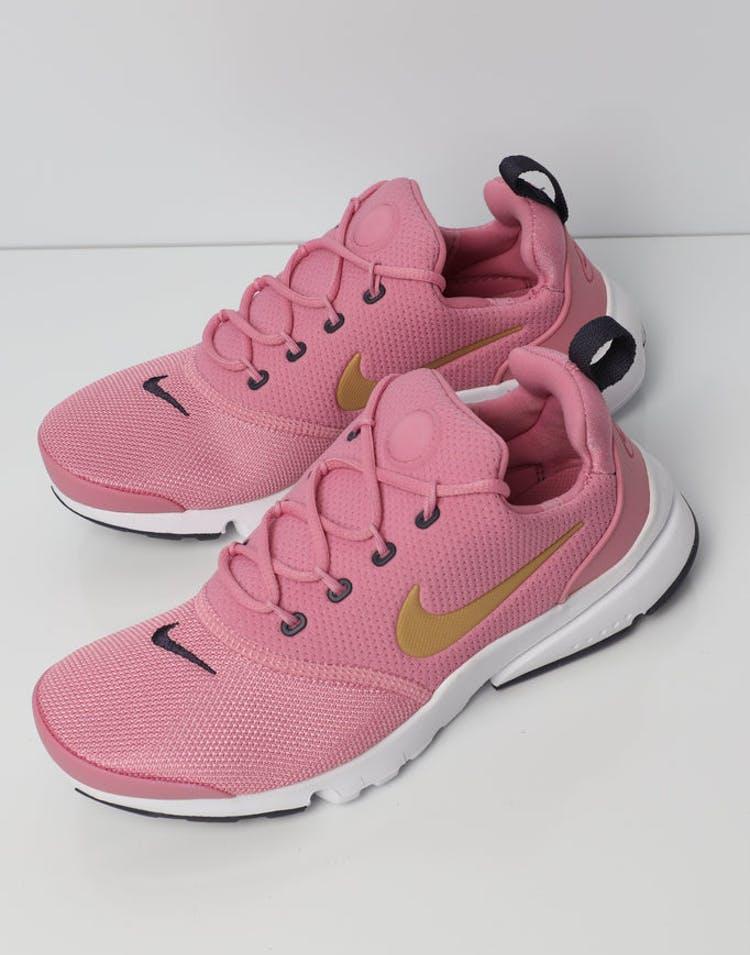 a39eee722 Nike Presto Fly Older Kids' Shoe Pink/Gold/White | 913967 603 – Culture  Kings