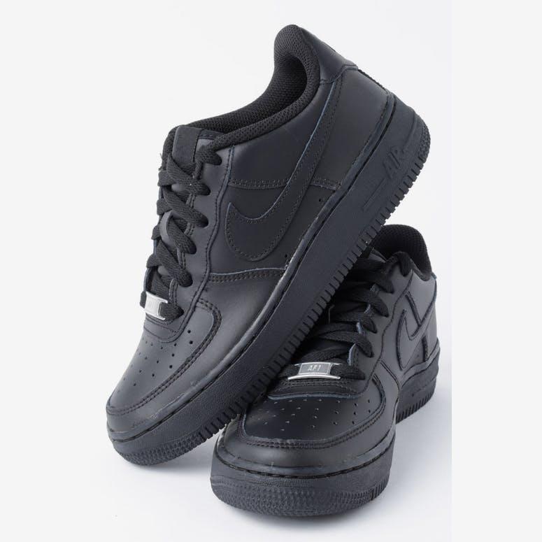 new styles 76551 976aa Nike Boys Air Force 1 (GS) BlackBlackBlack – Culture Kings