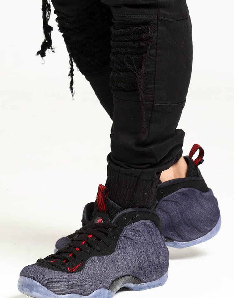 size 40 5f419 e8ad1 Nike Air Foamposite 1 Navy Black Red – Culture Kings