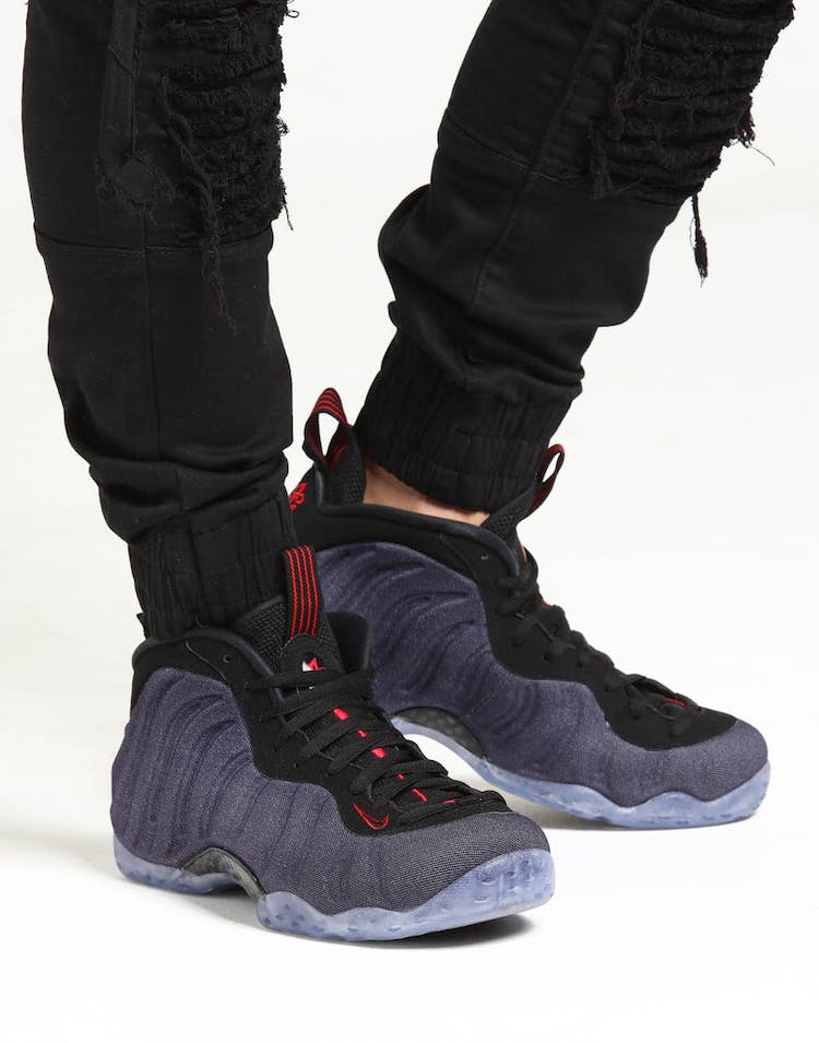 low priced 6a8ac e0d34 Nike Air Foamposite 1 Navy/Black/Red