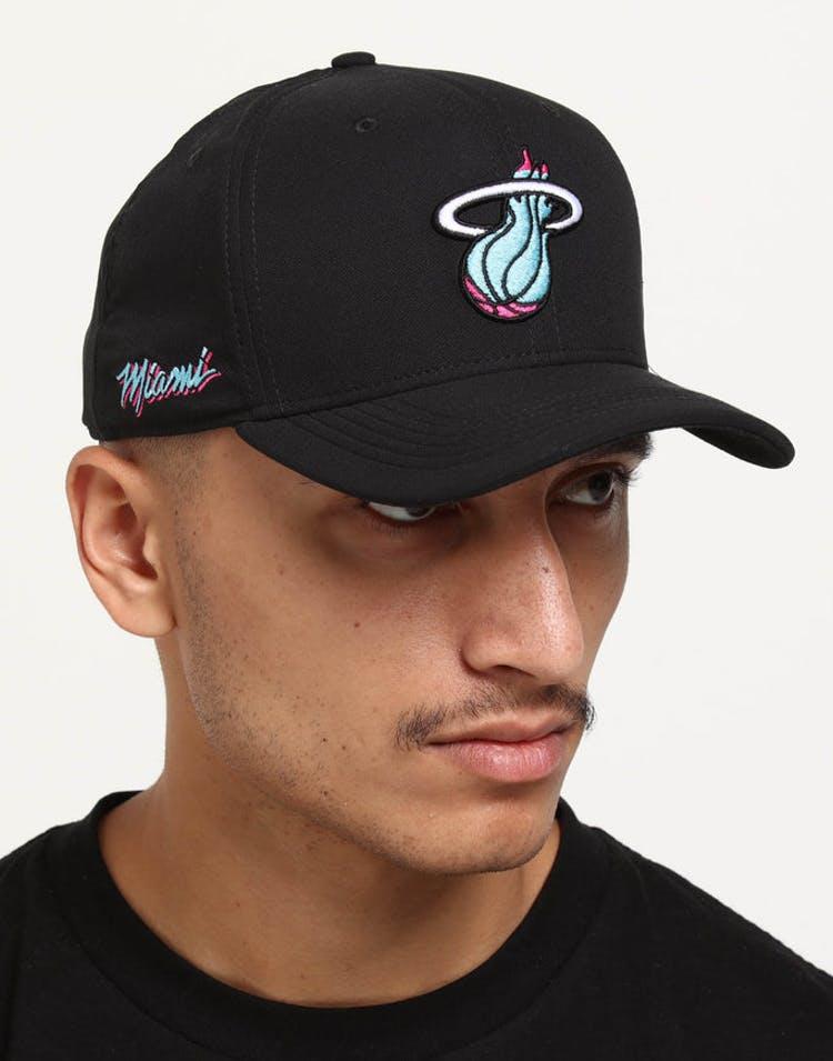 a92692e7e3807 Nike Miami Heat City Edition Dry Arobill Classic99 Snapback Black Blac –  Culture Kings