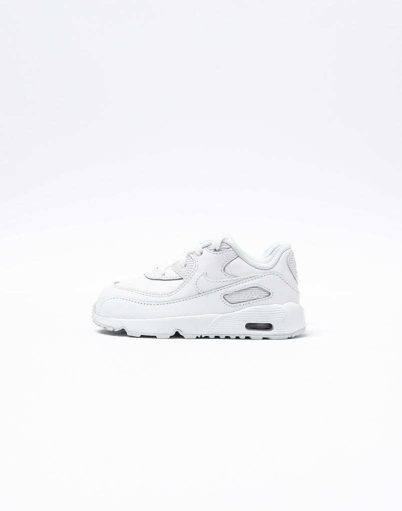 Nike Air Max 90 Leather Toddler Shoe WhiteWhite