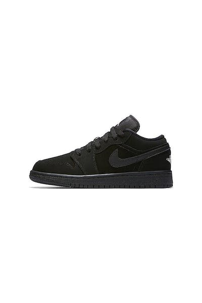 5893c583f630 Jordan Boy s Air Jordan 1 Low (GS) Black White