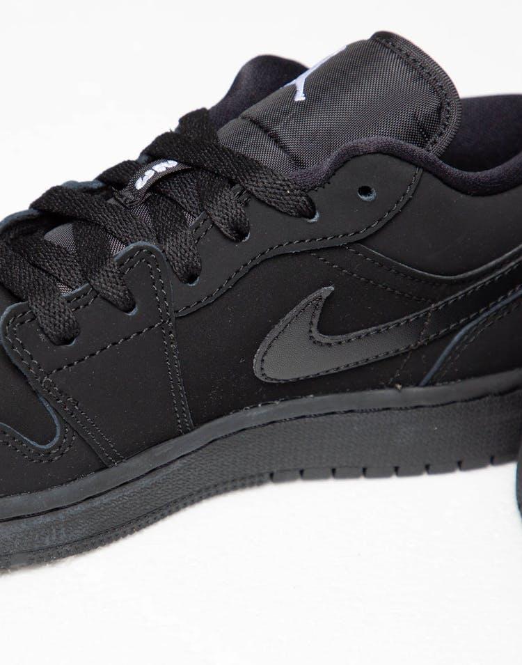 86d04d27b314 Jordan Boy s Air Jordan 1 Low (GS) Black White – Culture Kings