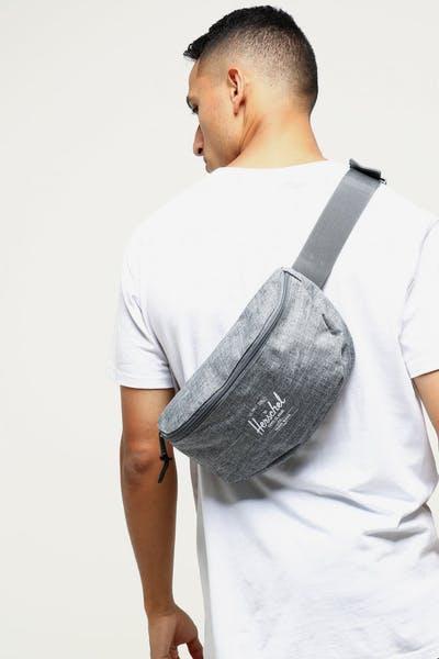 Herschel Bag Co Sixteen Hip Crosshatch Pack Charcoal