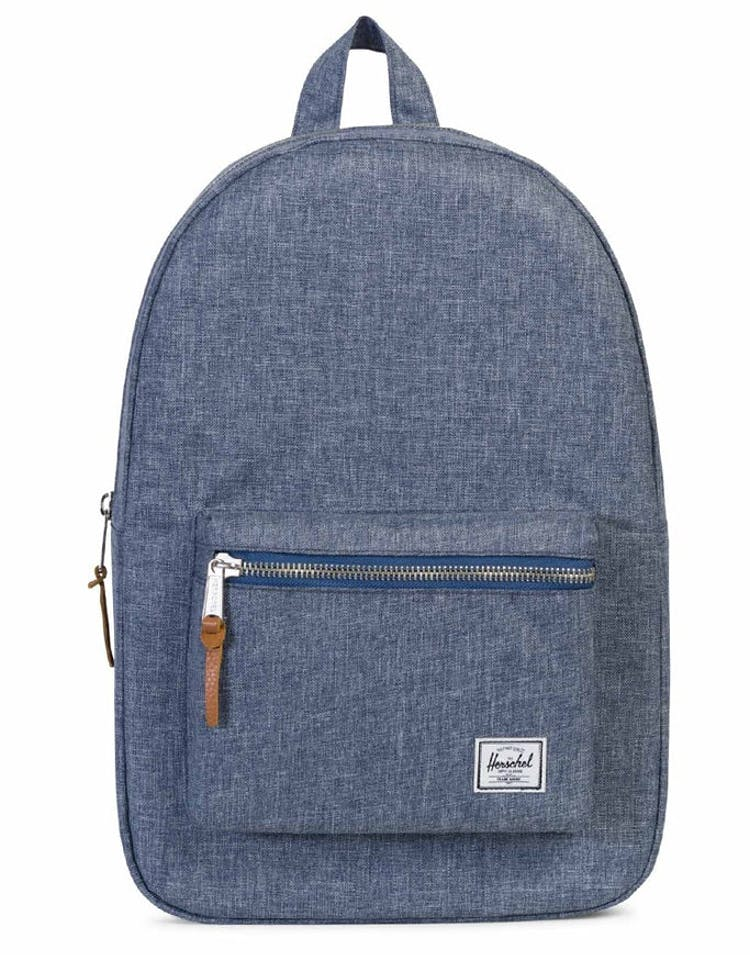 83afee164 Herschel Supply Co Settlement Crosshatch Dark Chambray – Culture Kings
