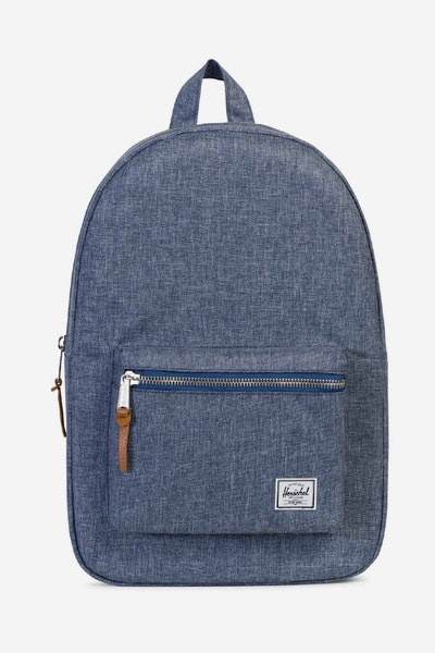 Herschel Supply Co Settlement Crosshatch Dark Chambray