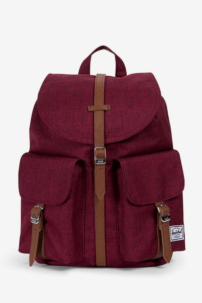 Herschel Supply Co Dawson X-Small Crosshatch Wine/Tan