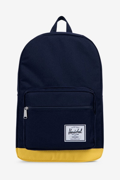 Herschel Supply Co Pop Quiz Backpack Peacoat/Yellow