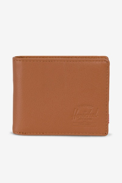 Herschel Supply Co Hank Leather RFID Tan Pebble